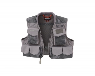 Simms Freestone Vest - Hex Flow Camo Carbon
