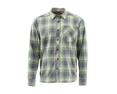 Simms Outpost Shirt - Storm Plaid