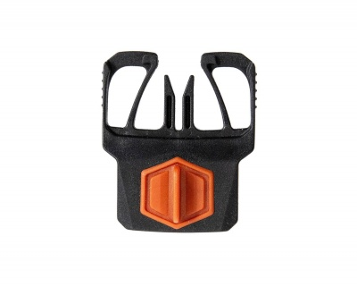 Simms Sharkfin Buckle - Simms Orange