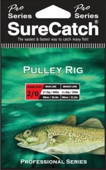Sure Catch Pro Series Pulley Rig (60lb Main Line)