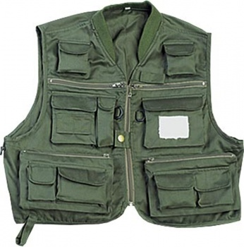 Jaxon Comfort Fly Vest, Soft Collar