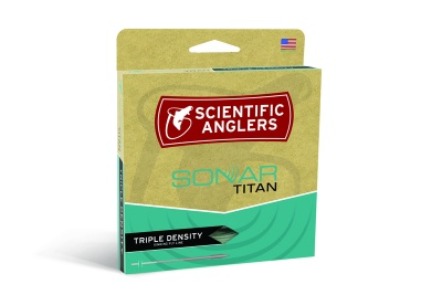 Scientific Anglers Sonar Titan Triple Density I/S3/S6 - Pale Green/Dark Green/Brown