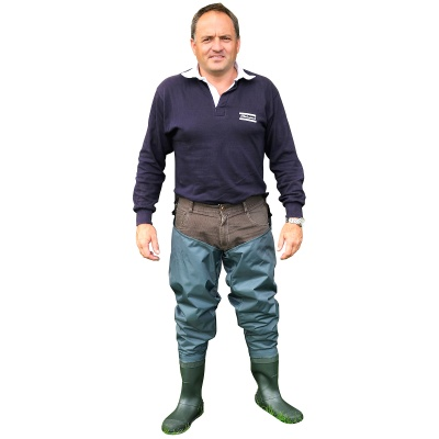 Shakespeare Sigma Nylon Hip Wader Cleated Sole