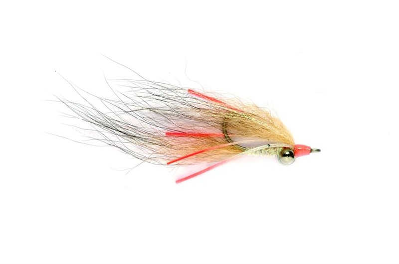 Pink Mini Puff Bonefish Saltwater Flies 6 Fly MULTI-PACK