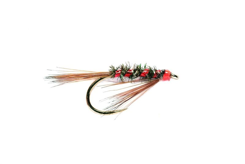 DIAWL BACH RED NYMPH Wet Trout Fishing Flies various options