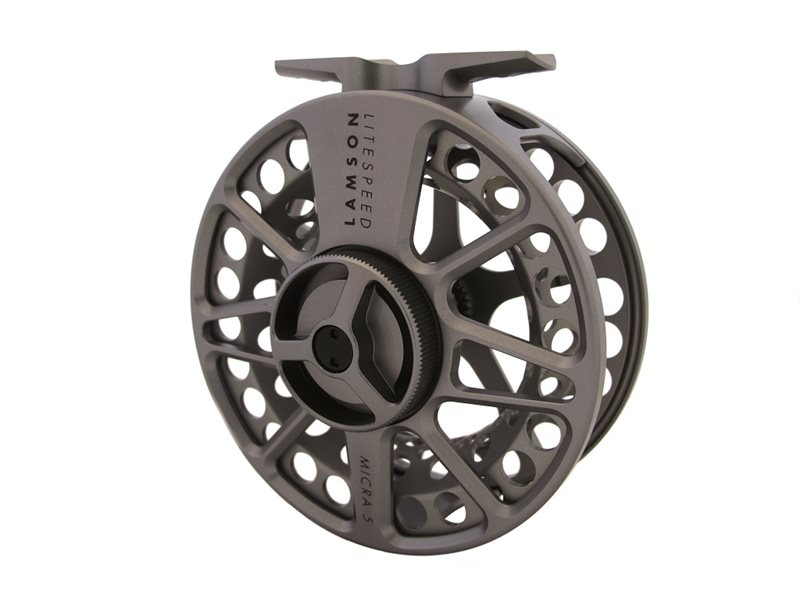 Waterworks Lamson Litespeed Micra 5 Fly Fishing Reel