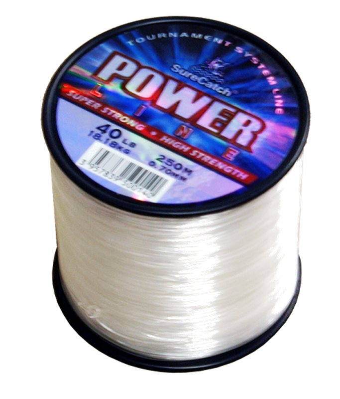 Sure Catch Power Line Monofilament, 4oz