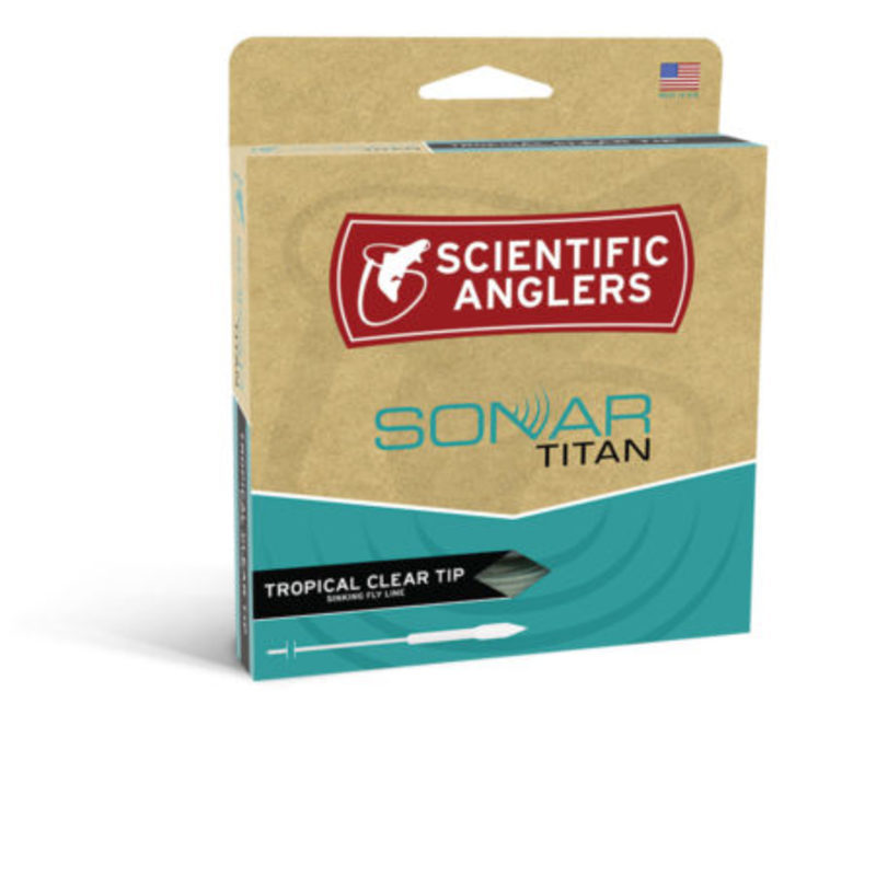 Scientific Anglers Sonar Titan Tropical Clear Tip - Sand/Horizon/Clear - WF-7