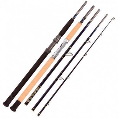 Snowbee - 5-Pce Travel Popping/Jigging Rod - 8Ft 6Ins