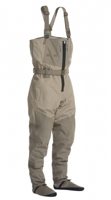 Allcock Neoprene Chest Waders With Rubber Boots /& Front Pocket Size 7-12