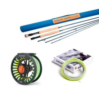 Guideline Elevate 10' #6 Rod, Reel, Line & Backing Package