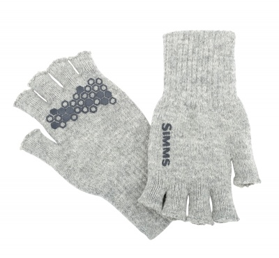 Simms Wool Half Finger Glove