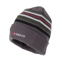 Greys Striped Beanie - Grey