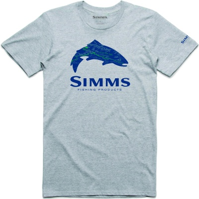 Simms Fire Hole Trout Tee