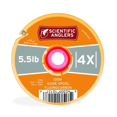 Scientific Anglers Fluorocarbon Tippet Guide Spool